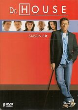 COFFRET 6 DVD ZONE 2--SERIE TV--DR.HOUSE - INTEGRALE SAISON 3 / 24 EPISODES
