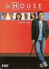 COFFRET 6 DVD ZONE 2--SERIE TV--DR.HOUSE - INTEGRALE SAISON 3 / 24 EPISODES
