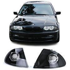 Klarglas Blinker schwarz für BMW 3ER E46 Limousine Touring 98-01