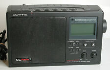 C Crane CC Radio AM/FM Weather SW Portable Travel Radio Twin Coil Ferrite
