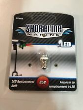 Shoreline Marine SL76626 LED Replacement Bulb #58 White
