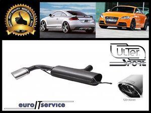 Silencieux Silencieux Échappement Arrière Audi Tt 1,8 T 98-06 150 160 180 190PS