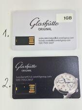 Raro galshutte 1GB Memory Stick USB, tarjeta. artículo de coleccionistas.
