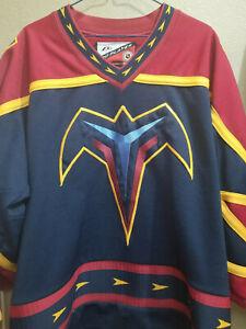 NHL Vintage Atlanta THRASHERS Pro Player Medium Jersey