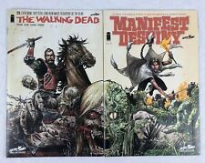 The Walking Dead #129 Manifest Destiny #8 Comics 2014 SDCC Connecting Covers NM