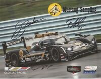 2019 Action Express Racing #5 Cadillac DPi signed Petit Le Mans IMSA postcard