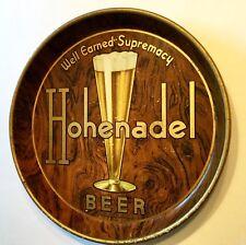 Philadelphia PA Hohenadel metal BEER Tray Brewery Vintage Old Advertising