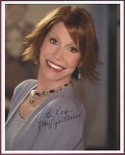 """Mary Tyler Moore, Actress, Signed 8"""" x 10"""" Color Photo, COA, UACC RD 036"""