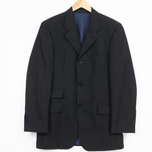 Hugo Boss Astor / Lustro 3 Pieces Suit virgin wool Striped Black Mens Size 48