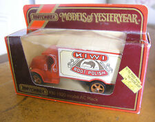 Matchbox Yesteryear Y30 1920 Mack Truck Kiwi Boot Polish