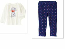 GYMBOREE Dog Top and Polka Dot Pants Mod About Orange  Outfit NWT  SIZE 4T
