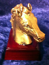 Horse Mustang Head Trophy Resin Award Free Custom Personalized Engraving