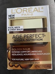 L'Oreal Age Perfect Hydra-Nutrition Golden Balm Face, Neck & Chest Balm 1.7oz