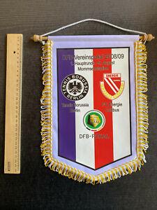 Wimpel 09.08.2008 Tennis Borussia Berlin - FC Energie Cottbus, DFB-Pokal