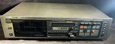 Vintage 1980s TEAC V-90R Auto Reverse Cassette Deck Audiophile MS2