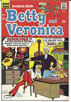 Betty And Veronica #156 1968 FN+ Archie Comics Free Bag/Board