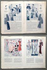 More details for vintage german frohne modelle drafting system sewing patterns booklet 40s (f/sb)