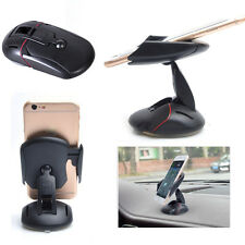 Car Dashboard Windshield Mouse Phone iPhone Mount Holder Stand Suction Cradle