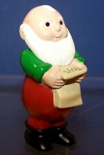 1989 Hallmark New Christmas Mr Claus Merry Miniature Never Displayed Qfm1595
