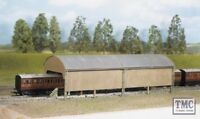 527 Ratio Carriage Shed (320mm x 105mm) OO Gauge Plastic Kit