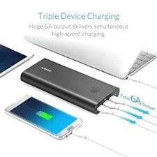 NEW Anker Power Bank Portable 3X Fast Charge, 26800mAh External Battery 3 PORT