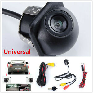 Car Rear Mirror 170° Wide-angle View CCD Front Backup Parking  Reversing Camera