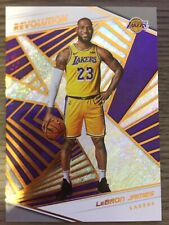 LEBRON JAMES 2018-19 Panini Revolution #40 First Los Angeles Lakers Card!
