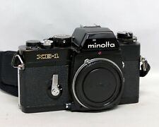 Minolta XE-1 XE1 Black 35mm SLR Film Camera Body