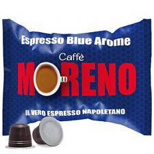 100 CAPSULE CAFFE' MORENO MISCELA ESPRESSO BLUE AROME NESPRESSO OR