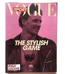 Sport L'uomo Vogue n. 402 luglio 2009 Ryan Lochte Stefano Maniscalco Magazine