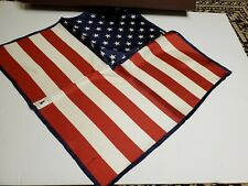 NEW Robert Talbott 100% American Flag Pocket Square - 💰$100 Retail!💰