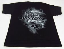 Youth Boys NWT Mossy Oak Locked Up Tee Short Sleeve T-Shirt Black Size M Medium