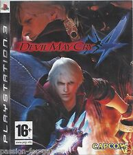 DEVIL MAY CRY 4 for Playstation 3 PS3 - with box and manual