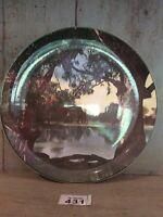 ROYAL DOULTON Cabinet Plate - Murray River Gums D6425
