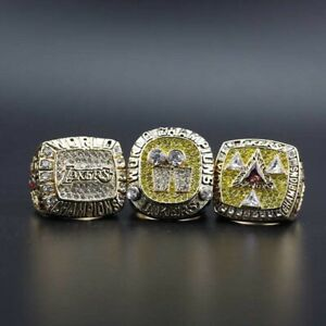Shaquille O'Neal 3 Championship Ring In Display Box