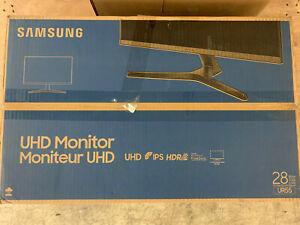 "Samsung UR55 Series LU28R550UQNXZA 28"" IPS 4K UHD Monitor U28R550UQN"
