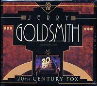 """JERRY GOLDSMITH AT 20TH CENTURY FOX"" Varese Club 1500-Ltd 6CD Box Set SEALED!"