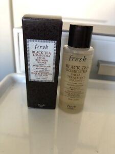 Fresh Black Tea Kombucha Facial Treatment Essence 20ml Deluxe Sample New In Box