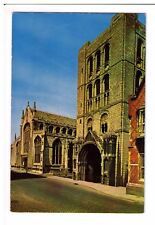 Postcard: The Cathedral and Norman Tower, Bury St Edmunds, Suffolk