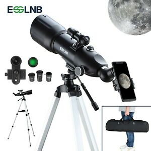 40080 Astronomical telescope with High Tripod Storage Bag Phone Holder