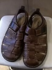 a1eeb8d1204 TOM McAN CHOCOLATE BROWN MENS SANDALS SIZE 8D NWOB