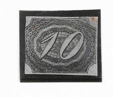 """BRAZIL 1844 SCOTT 7 - MICHEL 4  - NUMBER """"10""""  MINT HINGED"""