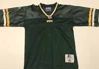 Team Autographed Vintage Edmonton Eskimos 1990's Starter Youth Small CFL Jersey