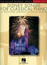 Disney Songs for Classical Piano (Phillip Keveren) by  | Sheet music Book | 9781