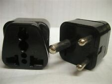 US USA EU To India Africa 3-Pin Plug Adapter 3 Prong for Indian African Outlet