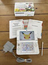Console NINTENDO 3DS XL Blanche  4Go + 44 Jeux Installés