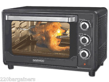 Daewoo NEW 220 Volt Large 30L Toaster Oven (NOT FOR USA) for Asia Europe Africa