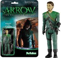 Arrow - Green Arrow Unmasked SDCC 2015 US Exclusive ReAction [RS]-FUN5655