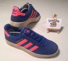Adidas Originals TRIMM TRAB 2004 Blue/Pink Trainers UK 6 'VINTAGE RARE UNISEX'