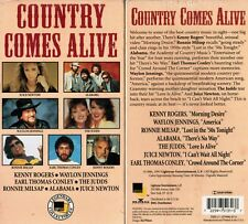 Country Comes Alive VHS Video Tape New Kenny Rogers Waylon Jennings The Judds